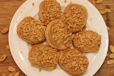 West African Staple Food: Peanuts | Recipe for Biscuits Cinq Centimes {Five Cent Cookies from Senegal)