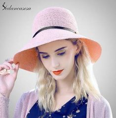Sun Hats for women summer Large Brim Raffia Straw Bucket hat holiday seaside sun protect beach hat 4 color Like if you are Excited! Visit our store Holiday Outfits Women, Summer Fashion Outfits, Fashion Night, Holiday Fashion, Holiday Style, Fashion Fall, Fashion Ideas, Holiday Hats, Holiday Party Dresses