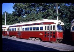 TTC Toronto Transit 35mm Trolley-[Slide #2345]-1965 PCC Car