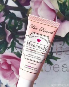 Got a beauty hangover? The Too Faced Hangover Primer is infused with coconut water to help hydrate while locking down makeup for fresher, longer and more flawless wear. #regram @jennimakeup #toofaced