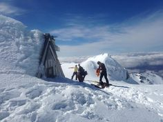 Creative Director Greg, skiing Whakapapa, NZ