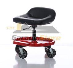 Craftsman Adjustable Rolling Mechanics Seat Stool Amp Tool