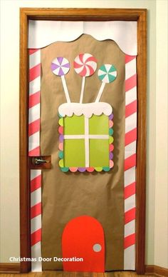 Bring some good cheer to your classroom with this holiday classroom doors and winter classroom door ideas. Then recreate them yourself! door decorations for school winter 33 Amazing Classroom Doors for Winter and the Holidays Christmas Door Decorating Contest, School Door Decorations, Office Christmas Decorations, Class Decoration, Christmas Classroom Door Decorations, Preschool Christmas, Christmas Art, Door Ideas, Winter Time