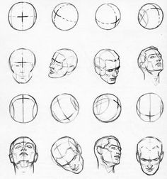 287 best drawing head images on pinterest drawing heads drawing