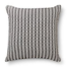 """Room Essentials™ Woven Triangle Pillow (18x18"""") : Target"""