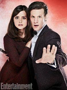 Jenna-Louise Coleman, Matt Smith, Doctor Who Doctor Who, Doctor On Call, Eleventh Doctor, John Smith, Matt Smith, British Actresses, Actors & Actresses, Brunette Actresses, Clara Oswald