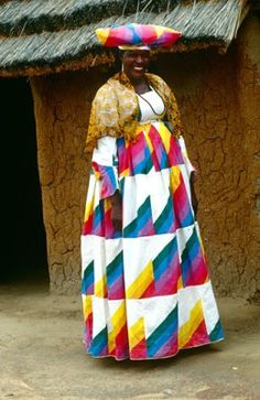 Hereo Woman in Traditional Dress . Namibia                                                                                                                                                                                 More