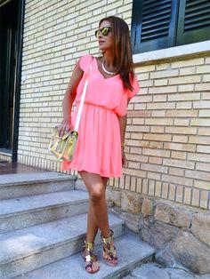 Paula Echevarria. Me encanta el vestido!
