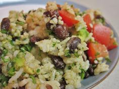 The Vegan Chronicle: Cuban Beans and Rice Salad