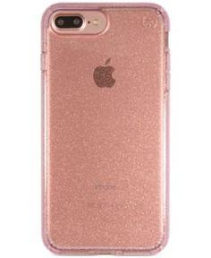 Speck Presidio Clear Glitter iPhone 7 Plus Case - Pink