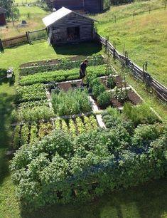 Urban Garden Design 15 Lovely Homestead Farm Garden Layout and Design Ideas Vegetable Garden Planner, Backyard Vegetable Gardens, Veg Garden, Backyard Farming, Vegetable Garden Design, Garden Cottage, Backyard Landscaping, Backyard Playground, Garden Tips
