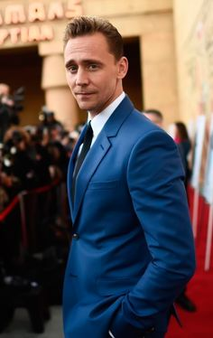 Tom Hiddleston attends the premiere of Sony Pictures Classics' I Saw The Light at the Egyptian Theatre