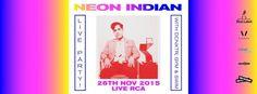NEON INDIAN Live in Bangkok by Have You Heard #DCNXTR, #GramaphoneChildren, #HaveYouHeard, #LiveRCABangkok, #NEONINDIAN #bangkoktoday - http://bangkok.today/events/neon-indian-live-in-bangkok-by-have-you-heard/