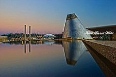 Downtown Tacoma on a beautiful, summer evening. View of the Glass Museum and Tacoma Dome in the background.    Photo credit: Adam Walter