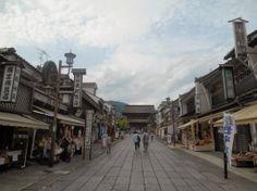 towards Zenko-Ji, Nagano