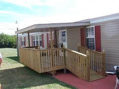 df74191e767f29643edd7aed69912b6d--wheelchair-ramp-front-deck Raised Front Porch For Mobile Homes on back porches for mobile homes, deck for mobile homes, bathroom for mobile homes, front patios for mobile homes, front steps for mobile homes, add porch to manufactured homes, front doors for mobile homes, enclosed porches for mobile homes, fence for mobile homes, front landscape for mobile homes,