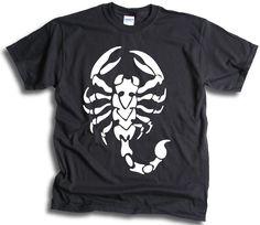 Scorpio Scorpion Star Sign Mens T Shirt Sm - Scorpion, Signs, Mens Tops, T Shirt, Ebay, Fashion, Scorpio, Supreme T Shirt, Moda
