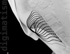 """Unir minimalismo e tecnologia: esta é a proposta do artistaStanislaw Wilczynski, que traz um conceito inovador às tatuagens que cria. Usando um design bastante geométrico e com traços puros, o tatuador busca no futurismo uma nova forma de adornar corpos. Afinal, para ele, a tatuagem não possui nenhum significado além do enfeite. """"Um qu..."""