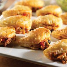Pepperidge Farm® Puff Pastry - Recipe Detail - Spicy Black Bean Empanadas