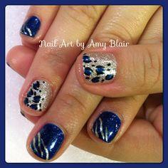 Nail art by Amy Blair #nail #nails #nailsart