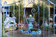 Ballan Victoria Australia,  a garden popular with the tourists...