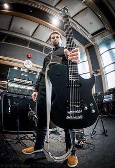 Matt Bellamy and Guitar