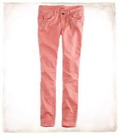 Aerie Skinny Twill Pant in Gloss... MINE! I call them!