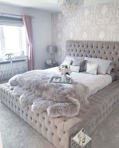 ✔ 46 small girls bedrooms 1 – Home Design Inspirations Cute Bedroom Ideas, Room Ideas Bedroom, Bedroom Decor, Bedroom Inspiration, Gray Bedroom, Master Bedroom Design, Bedroom Girls, Aesthetic Bedroom, Cozy Room