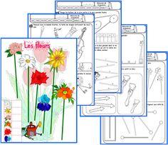 Plein de jolies fiches/jeux dont des fiches pour mesurer les longueurs... http://ipotame.blogspot.fr/2013/06/cp-maths-mesures-de-longueurs.html