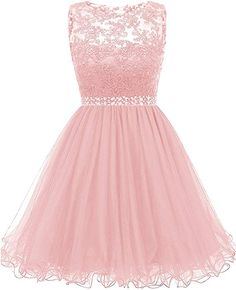 Himoda Lace Homecoming Dresses Sequined s Cocktail Prom Gowns Short Pretty Prom Dresses, Lace Homecoming Dresses, Prom Dresses For Teens, Prom Dresses Long With Sleeves, Cute Dresses, Prom Gowns, Beautiful Dresses, Dama Dresses, Quince Dresses