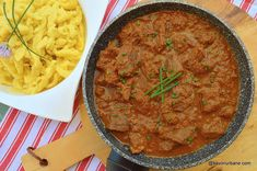 Romanian Food, Romanian Recipes, Carne, Crockpot, Slow Cooker, Delish, Food And Drink, Ethnic Recipes, Recipes