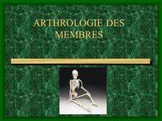 ARTHROLOGIE DES MEMBRES>