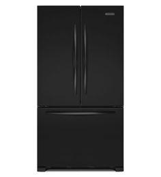 KitchenAid KFCS22EVBL 22 Cu. Ft. Counter-Depth French Door Refrigerator, Architect® Series II $3399