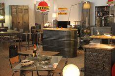 Table Basse Industrielle 31 Ides Pour Votre Salon