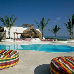 one of my many beach houses ..algun dia: San Rafael, MEXICO  Azucar Hotel (Grupo Habita)