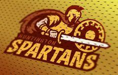 Spartans by Marco Echevarria - 60 Incredible Spartan Logo Designs for Inspiration iBrandStudio