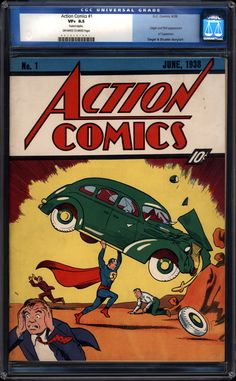 Who Wants To Buy An 8.5 CGC Action Comics #1 On eBay From A Zero Rated Buyer?