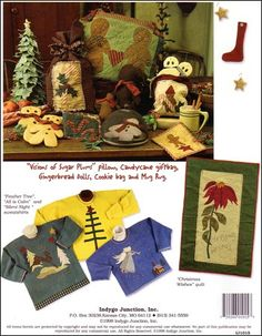 'Twas The Night Before Christmas – IJ1015 sewing pattern book from IndygoJunction.com