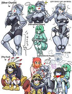 Sonic Fan Characters, Anime Characters, Jojo Stands, Gender Bender Anime, Jojo Anime, Monster Musume, Jojo Bizzare Adventure, Jojo's Bizarre Adventure Stands, Jojo Memes