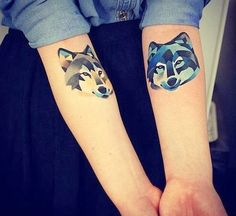 origami tattoo fox - Google Search