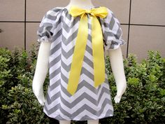 Chevron Dress Pillowcase by BonnyBow on Etsy, $15.00