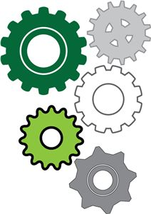 Imagination Movers Gears templates for kids party