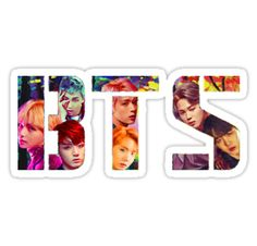 'BTS - Wings ' Sticker by minpop Pop Stickers, Tumblr Stickers, Printable Stickers, Bts Bangtan Boy, Bts Jimin, First Love Bts, Bts School, Bts Shirt, Kpop Diy