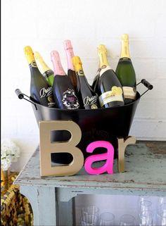 Bridal shower or bachelorette party