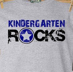 Back to school shirt chalkboard back to school personalized childrens Tshirt Kindergarten Language Arts, Kindergarten Rocks, Kindergarten Shirts, Kindergarten First Day, Back To School Supplies, Back To School Gifts, School Stuff, Beginning Of School, First Day Of School