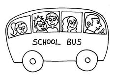 Printable School Bus Coloring Page For Free http://procoloring.com/printable-school-bus-coloring-page-for-free/