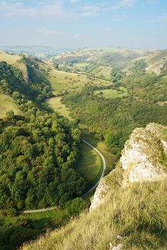 Manifold Valley from above Thors Cave, Staffordshire | England