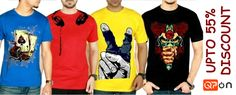 Mega-Sale! we have got some #massive discounts on #Gents-Casual-#stylish-t-Shirt! Click here to order now.http://qpon.bz/