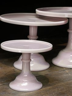 Love the pink milk glass!