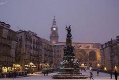 Nieva en Vitoria - Aitor Borruel Garate, via All Things Europe